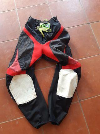 pantalón motocross enduro talla 30