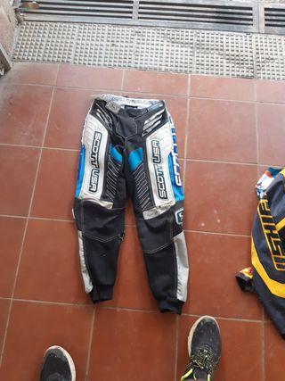 pantalón motocross enduro