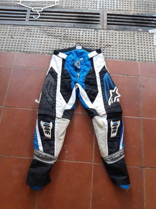 pantalón motocross enduro talla 32