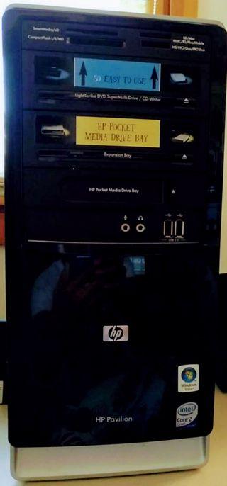 HP Pavilion Intel Core 2 Quad con Windows 7