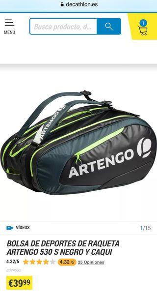 Bolsa tenis/padel