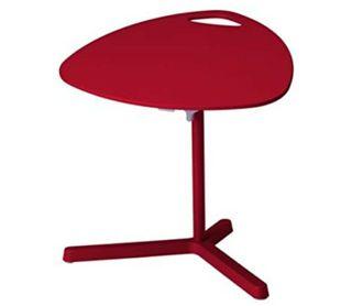 Table pour laptop Ikea Dave rouge