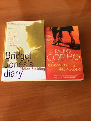 2 Libros en inglés.