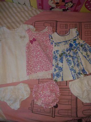 Vestidos bebe + complementos