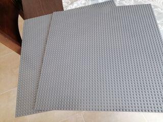 placas bases lego construcción