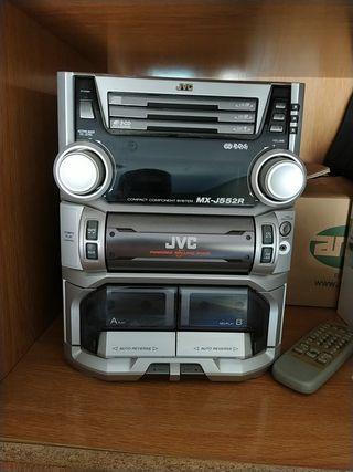 cadena de música JVC mx-j552R