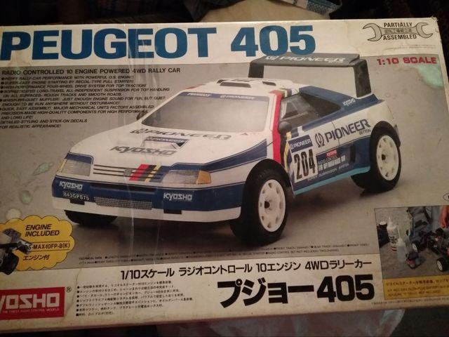 Radio Controlled Peugeot 405