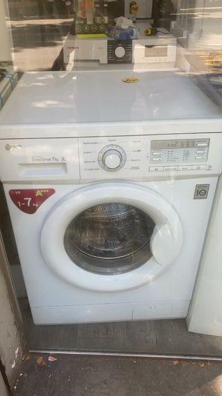 Lavadora LG 7 kg. 1 año de garantía.