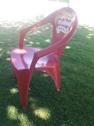 Lote 8 sillas jardín