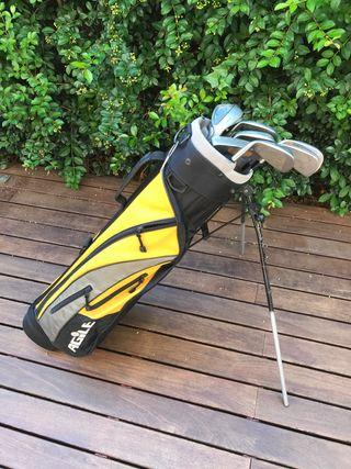 Juego completo palos golf callaway mizuno