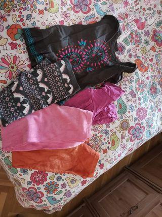 lote ropa niña de 7 y 8 años