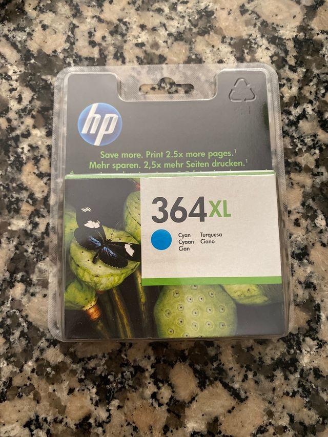 Cartuchos HP 364 colores