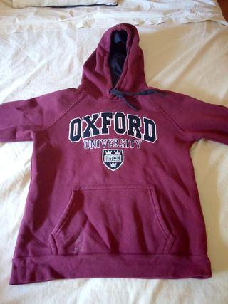 Sudadera Oxford talla S. Unisex