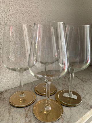 Copas de cristal de vino grandes