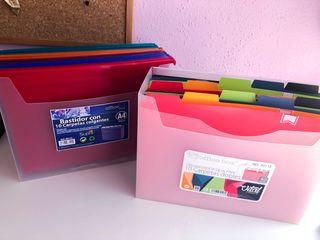 Cajas archivadoras