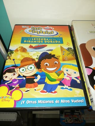 4 DVD SERIE LITTLE EINSTEINS