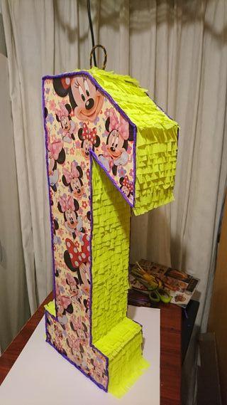 se vende piñata de minnie mouse