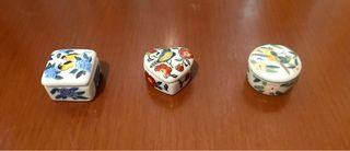 Cofres o joyeros porcelana