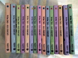 Manga One Piece números 1 a 9