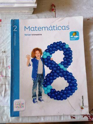 libro matemáticas 3 trimestre