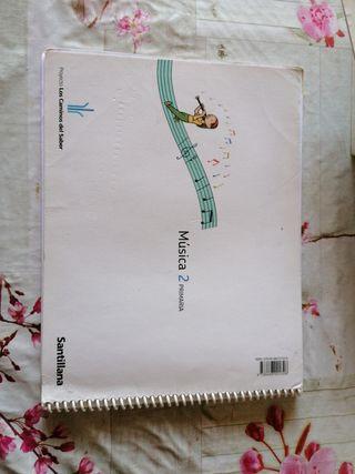 libro de música 2 de primaria