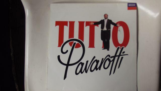 "Disco de vinilo ""Tutto""-Pavarotti"