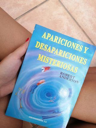 """Libro """"Apariciones y desapariciones misteriosas"""""""