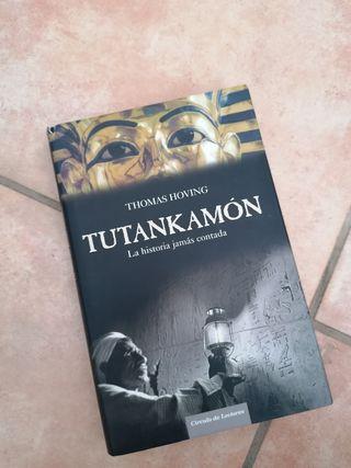 "Libro ""Tutankamon, la historia jamás contada"""