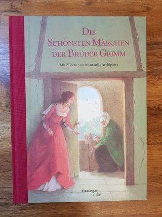 Libro: Cuentos Hermanos Grimm en alemán