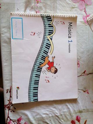 libro de música 1 de primaria