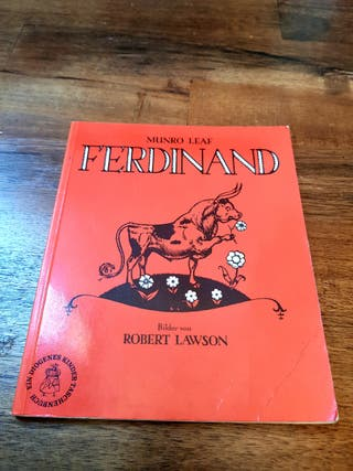 Cuento FERDINAND (Munro Leaf) en alemán. 1970