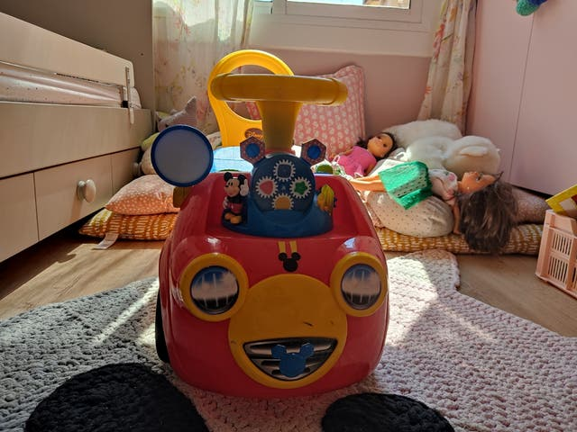 Correpasillos/coche Mickey Mouse