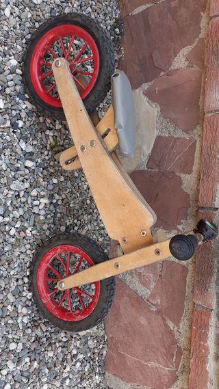 bicicleta madera infantil