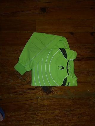 Camisetas de portero con protecciones