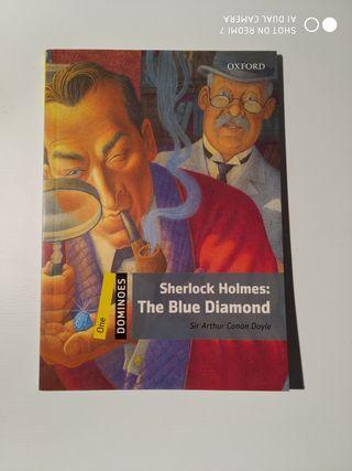 "Libro ""Sherlock Holmes: The Blue diamond"""
