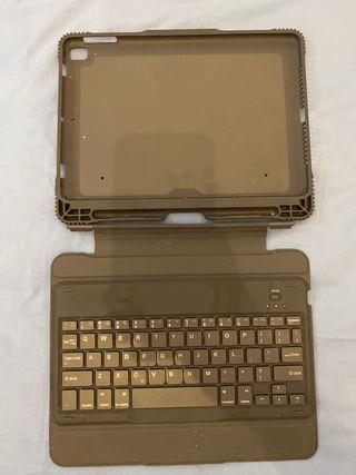Funda y teclado ipad
