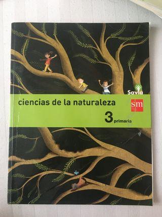 Libro ciencias de la naturaleza 3 primaria sm