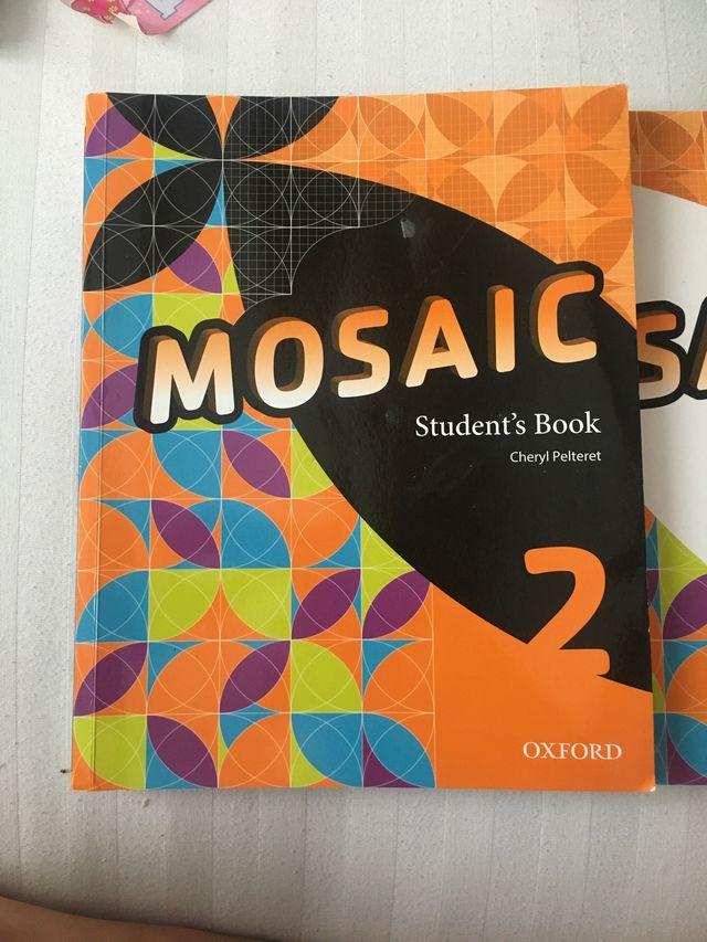 Libro inglés mosaic 2 eso
