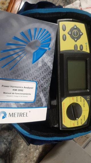 Analizador de redes y medidor de tierras