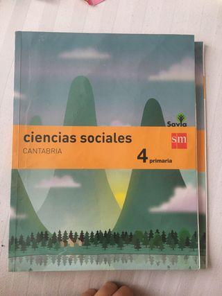 Libro ciencias sociales 4 primaria sm