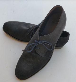 Zapato Massimo Dutti azul