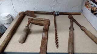 herramientas antiguas.