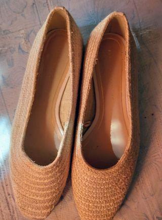 zapatos alpargata trafaluc de mujer