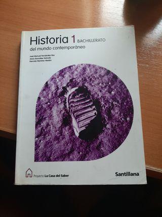 Vendo Libro Historia 1o Bachiller