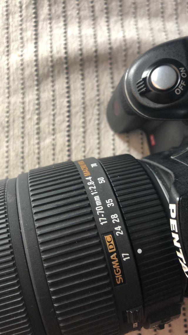 Camera de fotos reflex pentax kx
