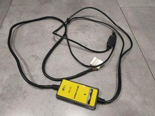 Cable adaptador radio USB, Jack, Honda