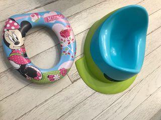 Orinal Bebé Confort y reductor WC