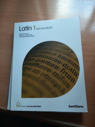 Vendo Libro Latín 1.º Bachiller