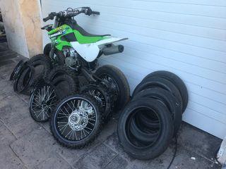 Kawasaki kx 65 supermotatd