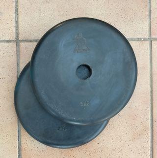 Discos de caucho 28 mm Terminator